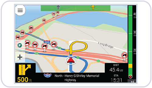 CoPilot Truck navigation